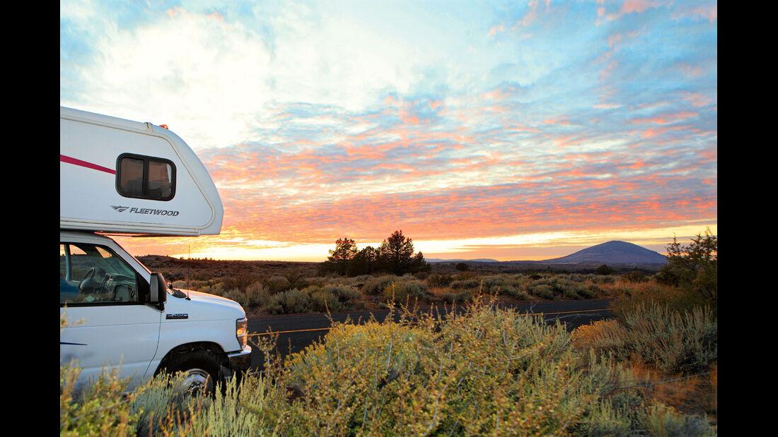 Reisemobil-Ueberfuehrungen in Nordamerika