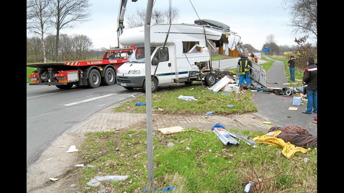 Reisemobil Unfall
