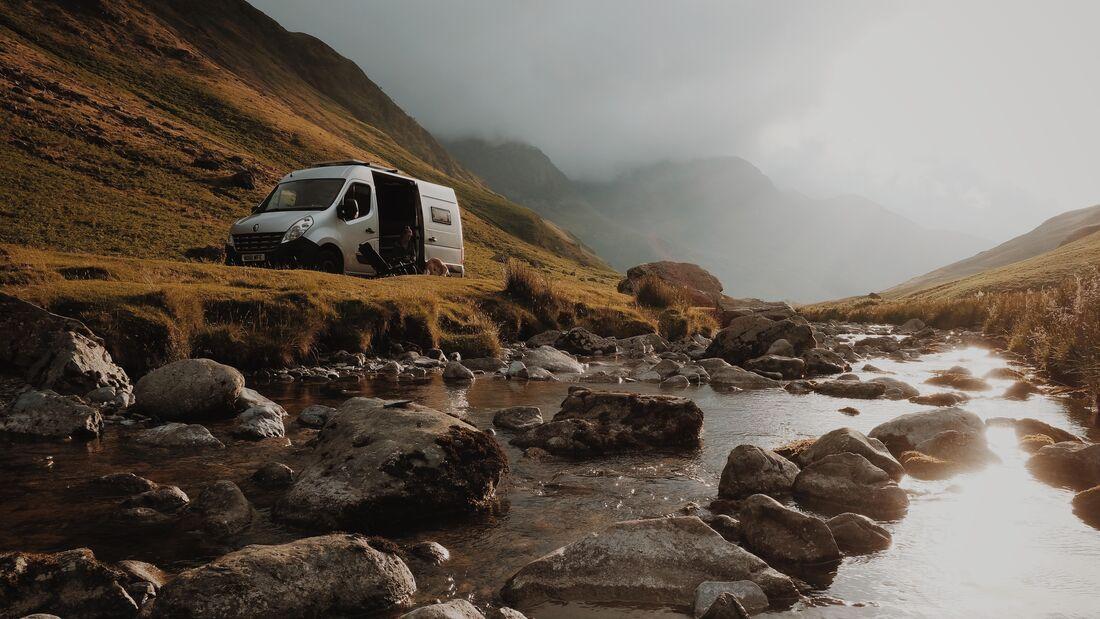 Reisemobil einsam