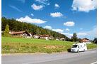 Reisemobil im Bayerischen Wald