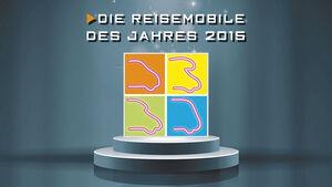 Reisemobile des Jahres 2015