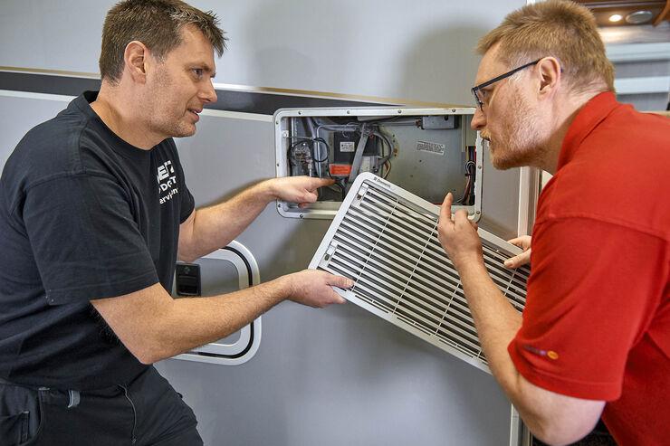 Reisemobile optimieren Kühlschrank austauschen