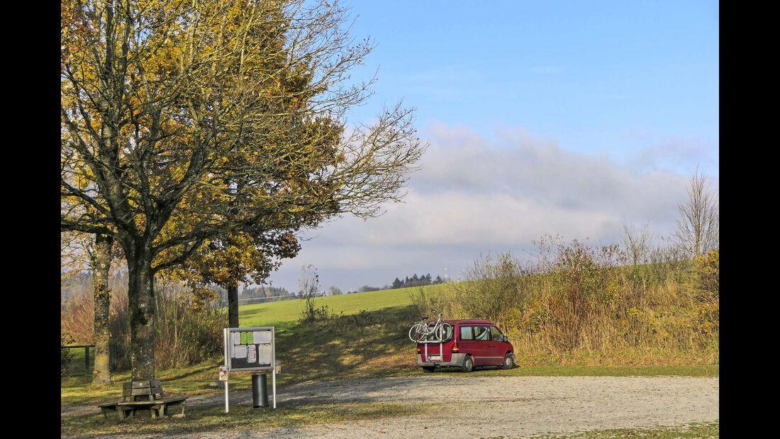 Reisemobilhafen am Loretopoark, Wolfegg