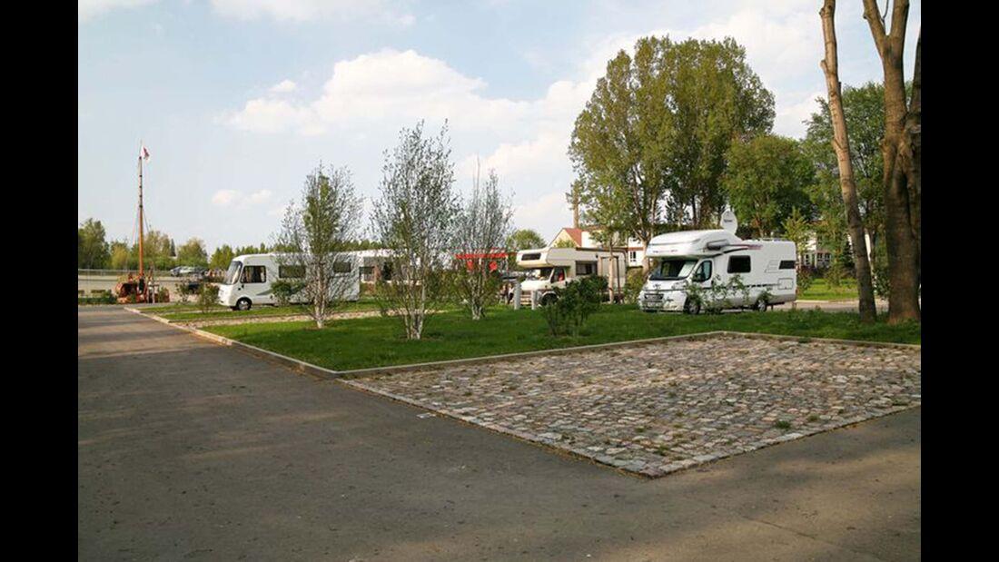 Reisemobilstellplatz am Schlosshafen Oranienburg