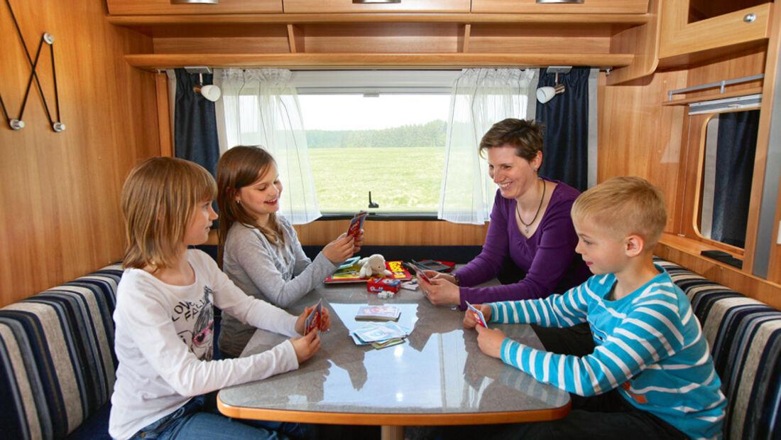 Reisen mit Kindern, Sitzgruppe