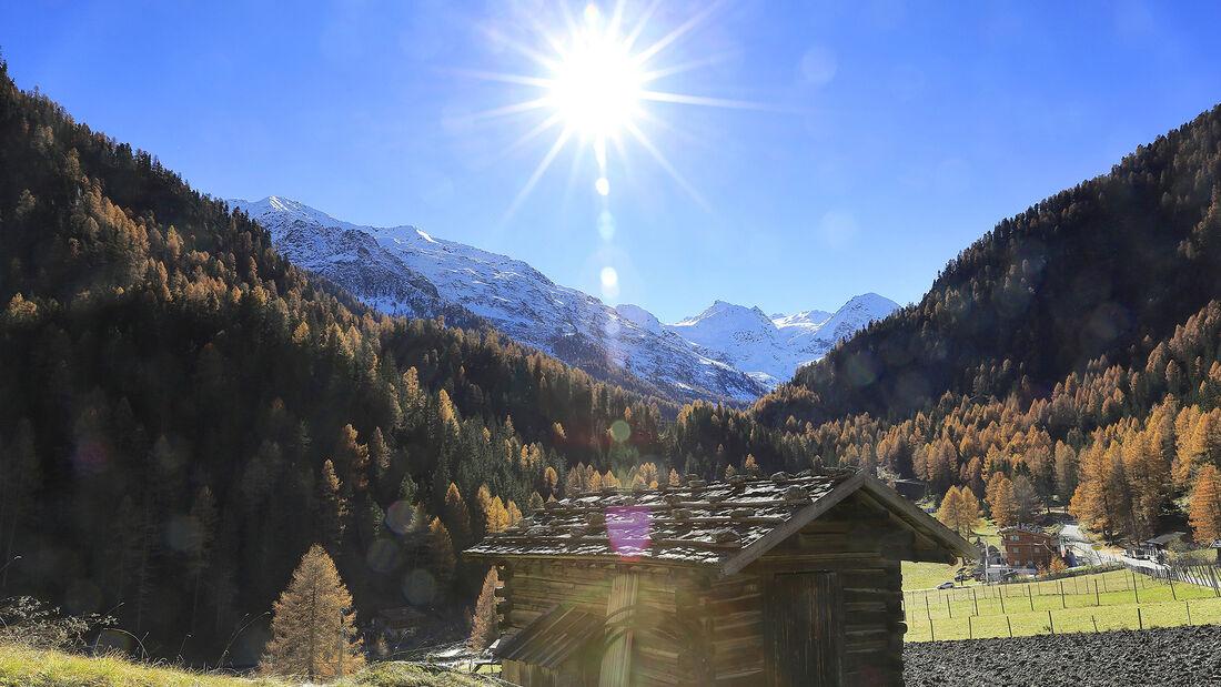 Reiseziele im Herbst