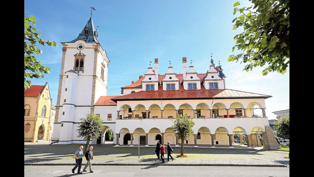 Renaissance-Rathaus Levoc?a.