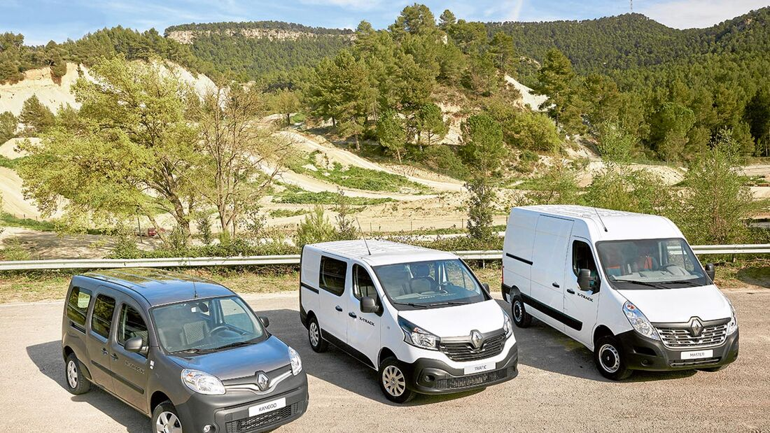 Renault Nutzfahrzeuge Offroadtauglich