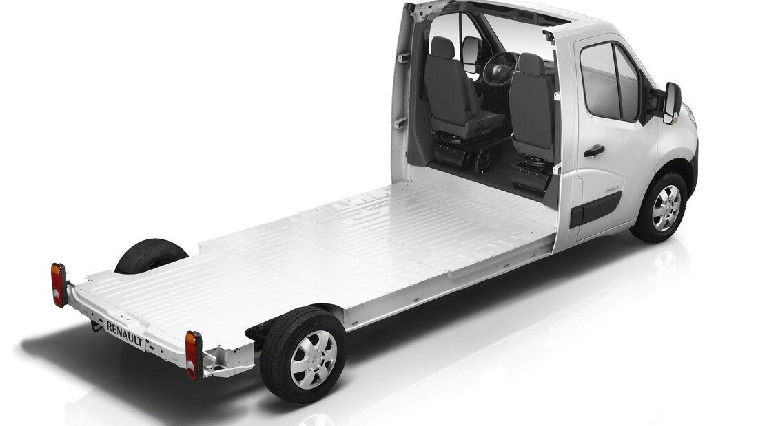 Renault stellt beim Caravan-Salon die Vielseitigkeit des Master als Basisfahrzeug für Reisemobile heraus