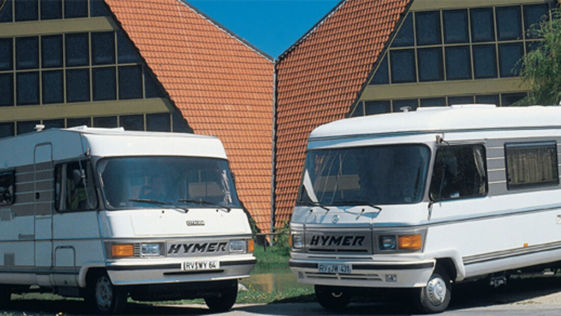 Report: Hymer B-Klasse Historie