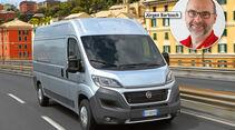 Report, Reisemobil-Trends, Fiat Ducato