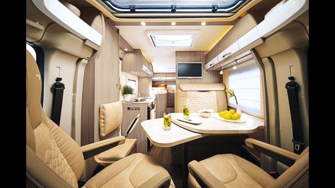 Report Sondermodelle Buerstner Travelvan Inneneinrichtung