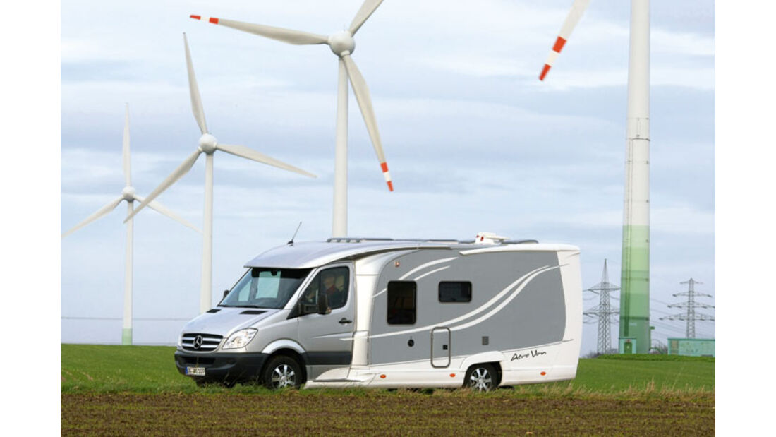 Report: Verbrauchstest Bürstner Aero Van