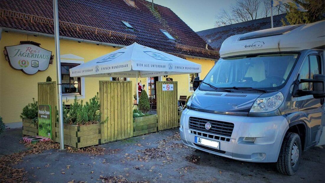 Resi's Jägerhaus, Corona-Wohnmobil-Dinner