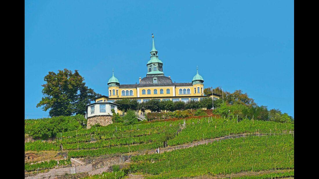 Restaurant Spitzhaus in Radebeul