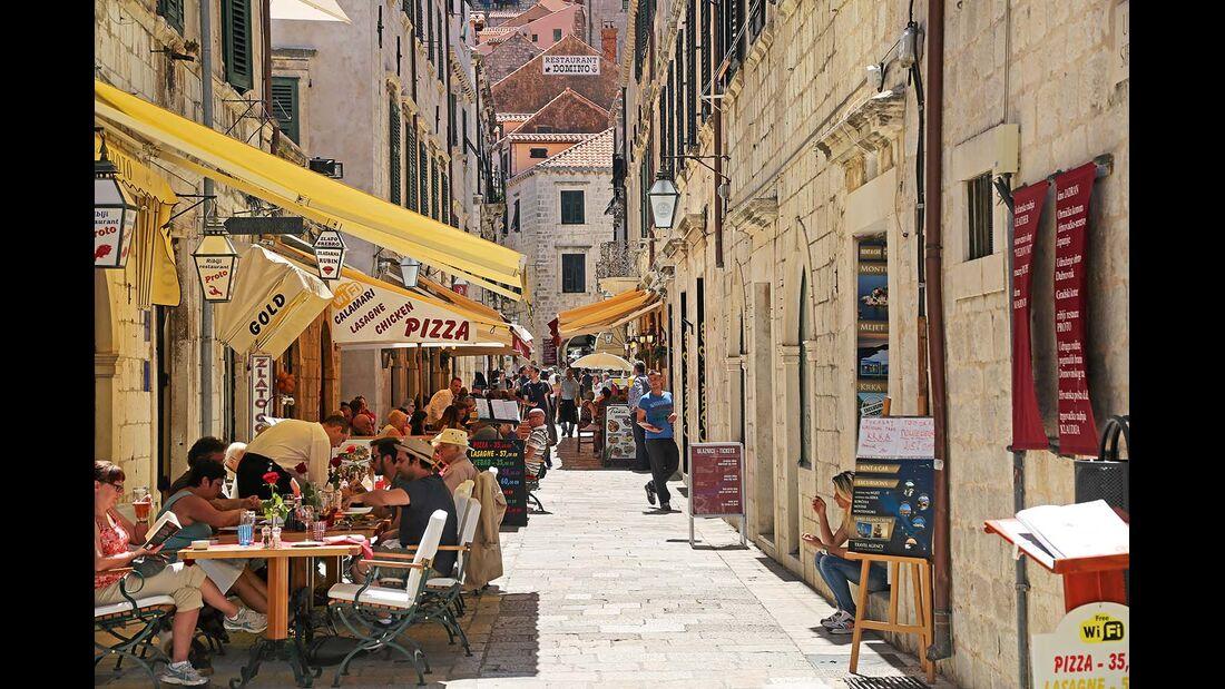 Restaurants in der Dubrovniker Altstadt