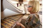 Roste mit flexibel gelagerten Latten unterfedern Matratzen beim Malibu T 460