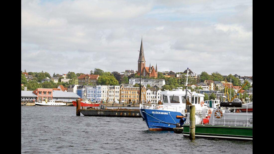 Rum und der Handel mit Skandinavien haben Flensburg einst reich gemacht.