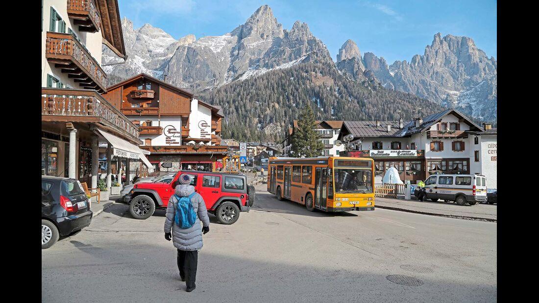 SAN MARTINO DI CASTROZZA war bereits im 19. Jahrhundert von den Pionieren des Alpinismus gut besucht.