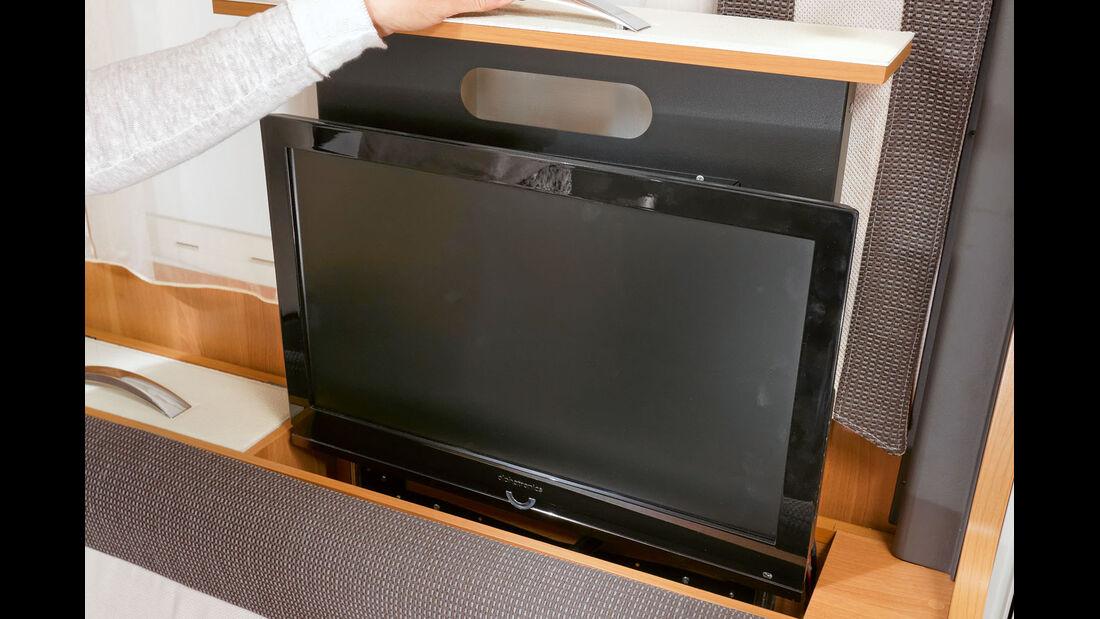 SC: Laika Ecovip 709, TV-Auszug