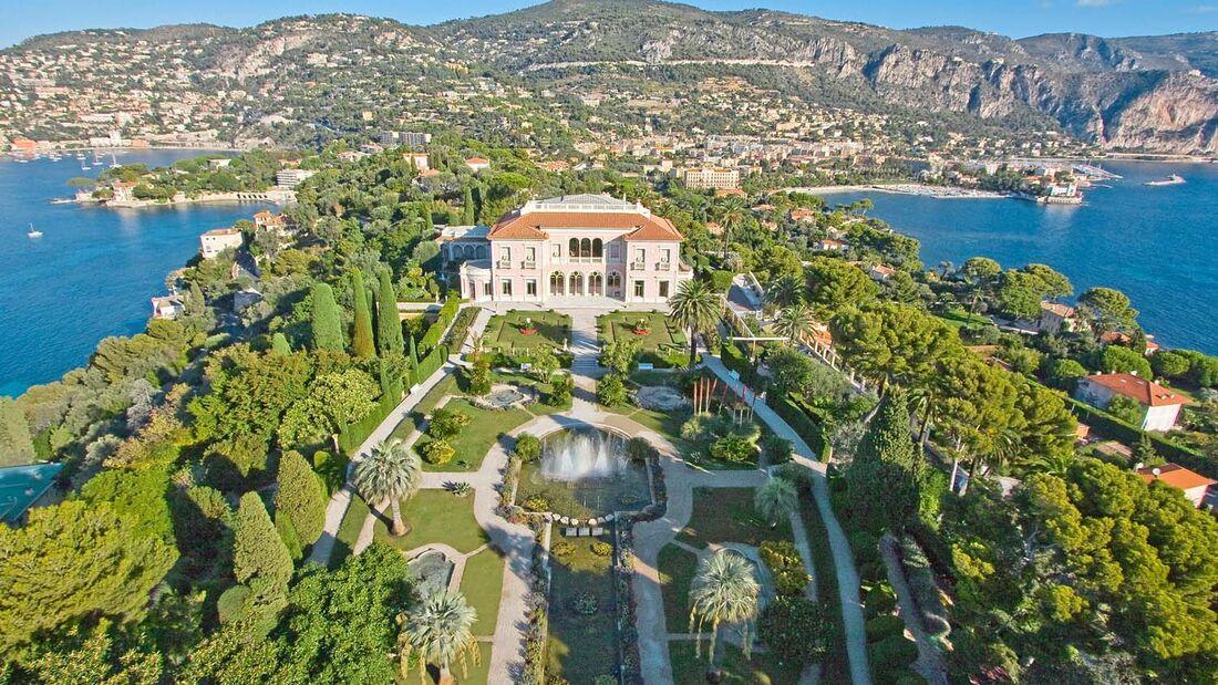 Saint-Jean-Cap-Ferrat, villa Ephrussi de Rothschild