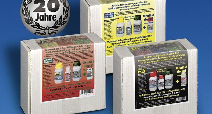 Sauberes Wasser mit der Multiman Jubiläumsbox – zum Vorzugspreis