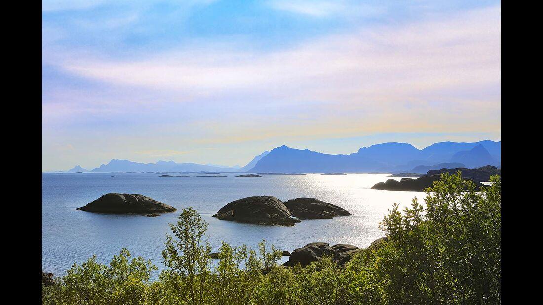 Schärenküste in Nordnorwegen