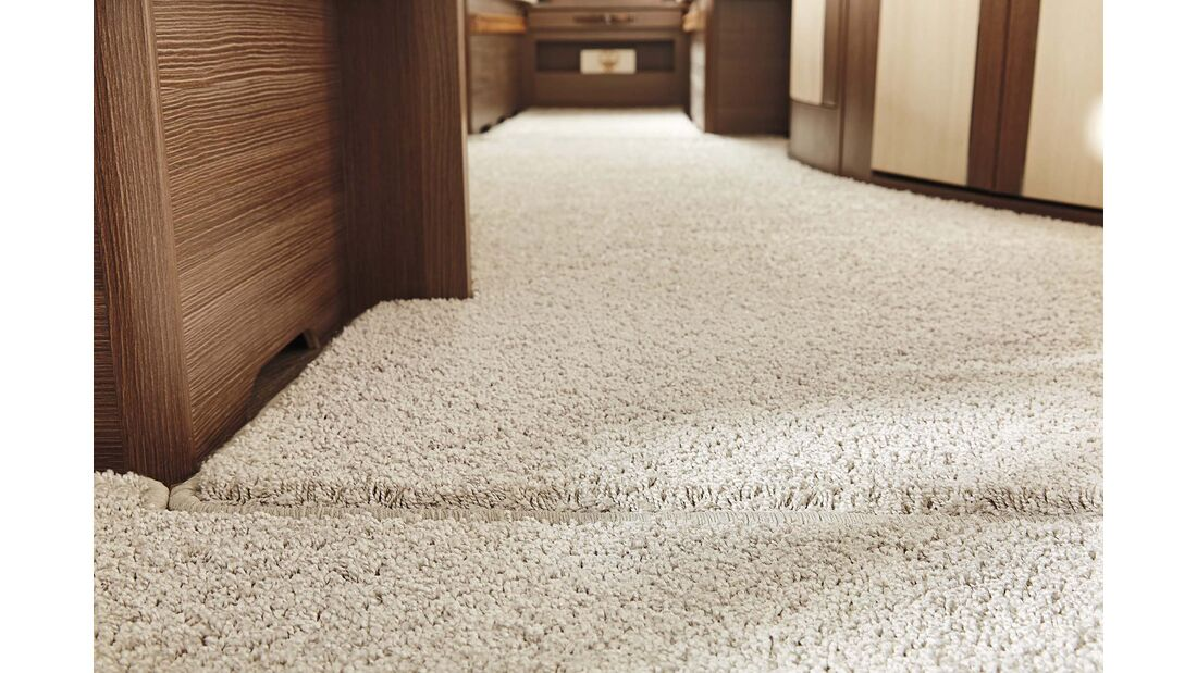 Schaufenster Teppich