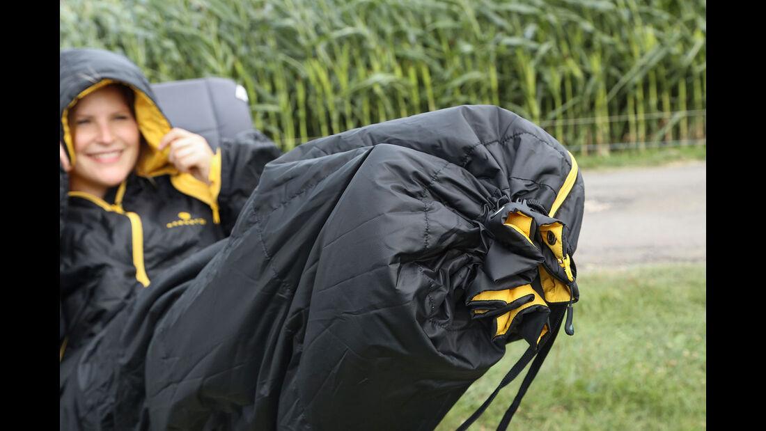Schlafsäcke Test