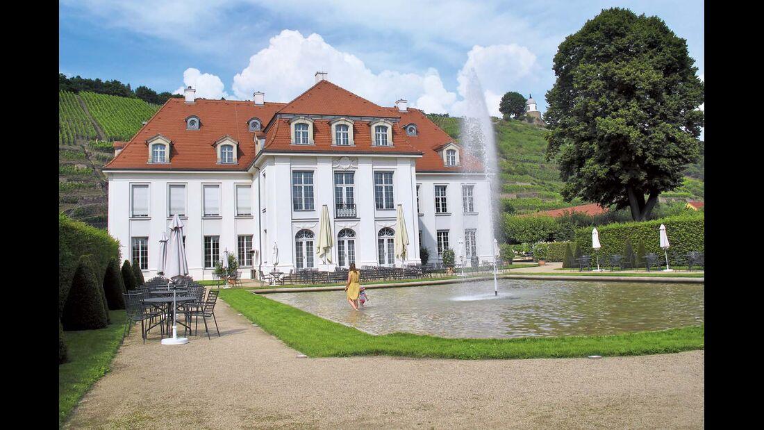 Schloss Wackerbarth, ein Kleinod für Genießer, Wein- und Kulturfreunde