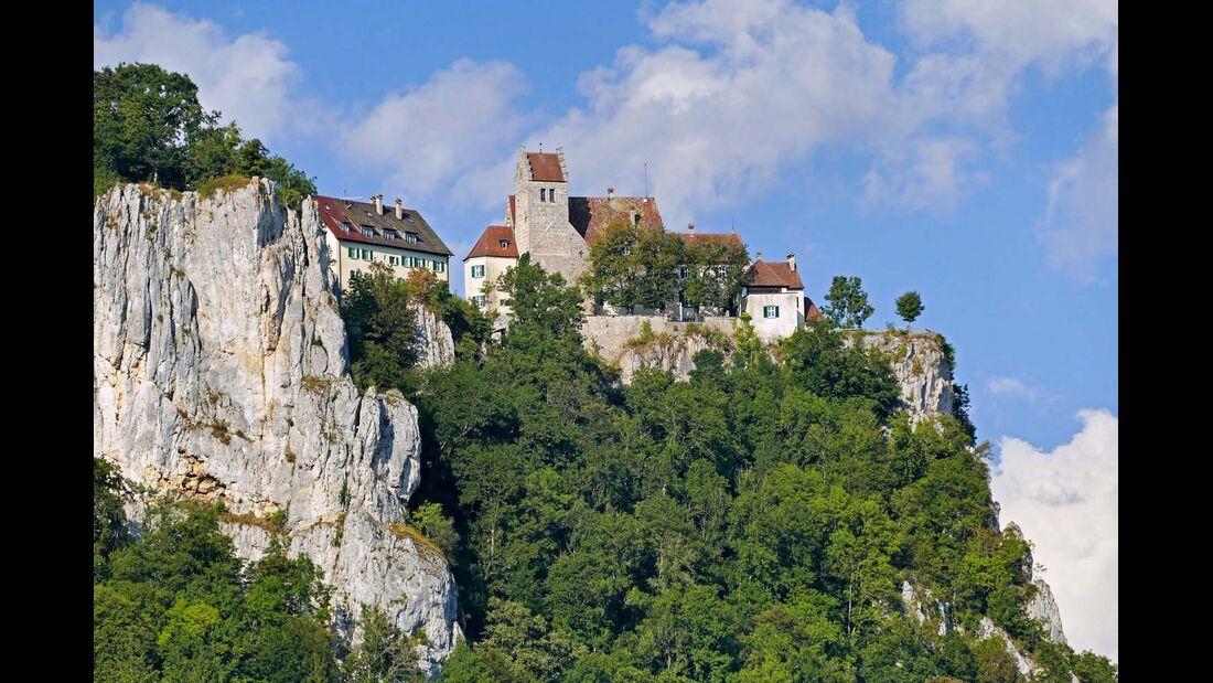 Schloss Werenwag an der Donau