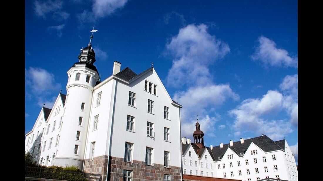 Schloss über der Altstadt von Plön