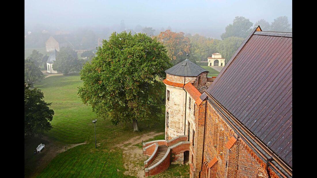 Schloss und Kloster in Dargun wurden 1945 zerstört. Heute finden hier wieder Kulturevents statt.