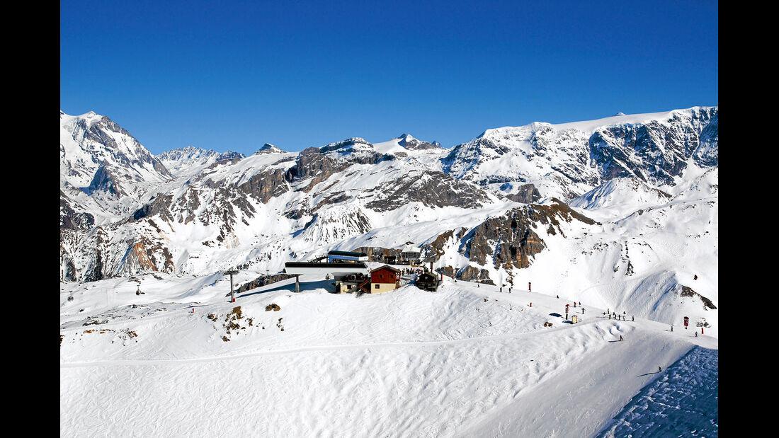 Schneelandschaften und tolle Ausblicke.