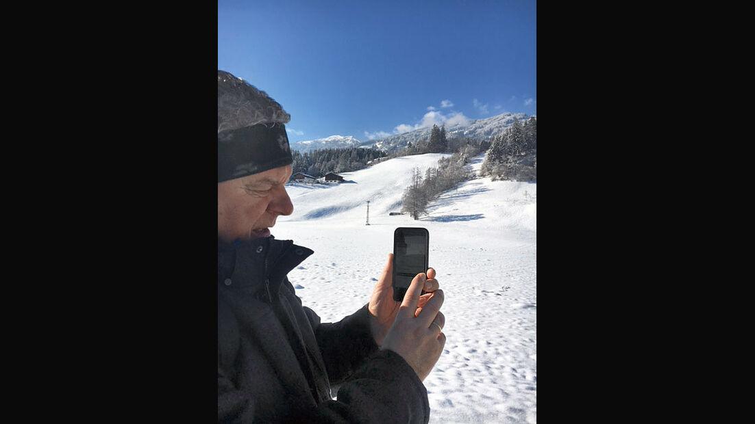 Schneewanderung im Zillertal