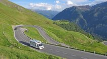 Schon die Fahrt über die 36 Kehren auf der Großglockner-Hochalpenstraße ist ein reines Vergügen.