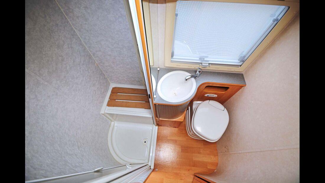 Schon vor Erfindung des Raumbads gab es vernünftig dimensionierte Sanitärräume