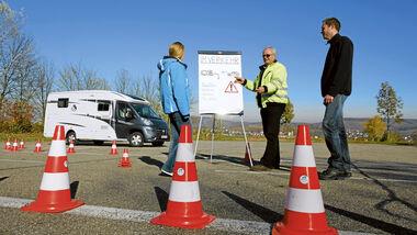 Schritt für Schritt zum Profi-Camper: Mit dem Reisemobil im Straßenverkehr