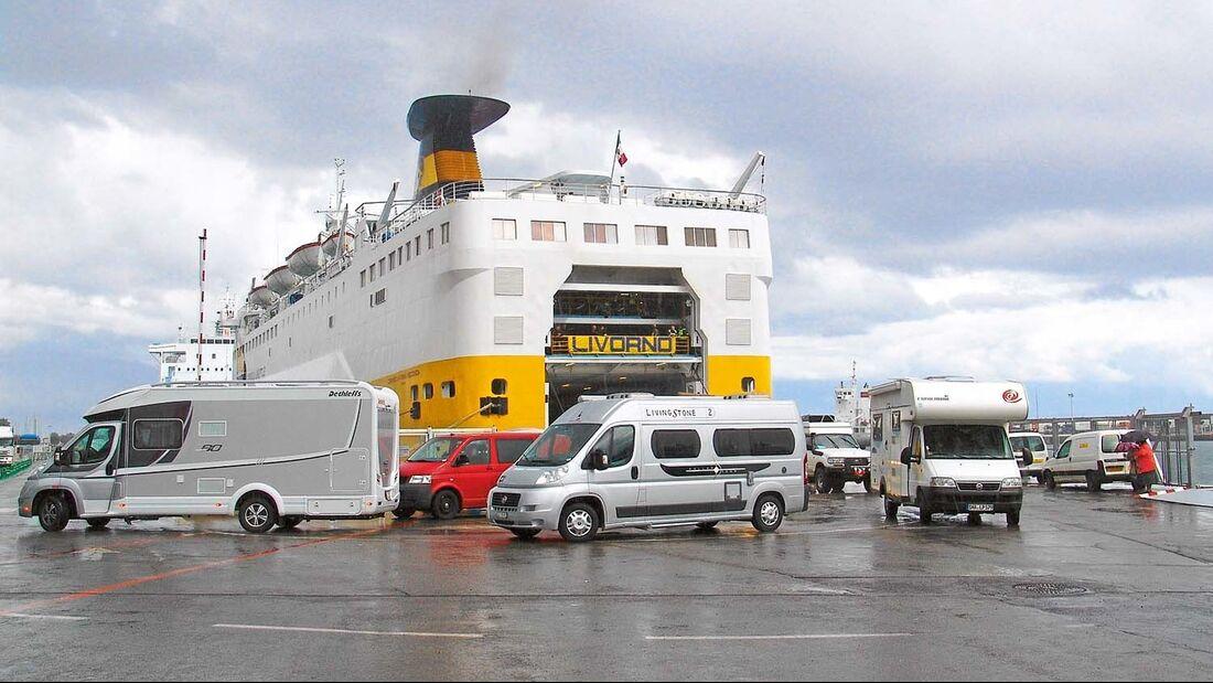 Schutz auf Fähren ist vetraglich separat geregelt.
