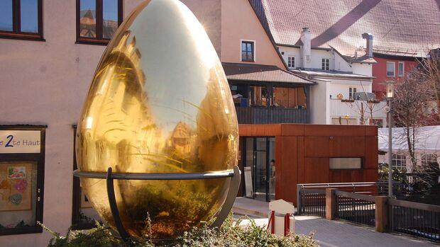 Schwabach goldenes Ei
