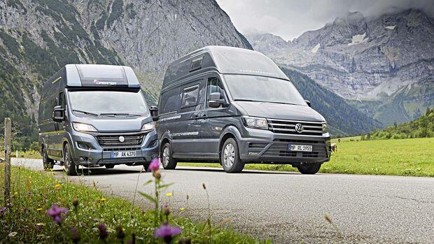 Schwabenmobil Florida Family L vs. Dreamer Camper Van XL Limited
