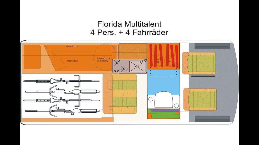 Schwabenmobil Florida Multitalent