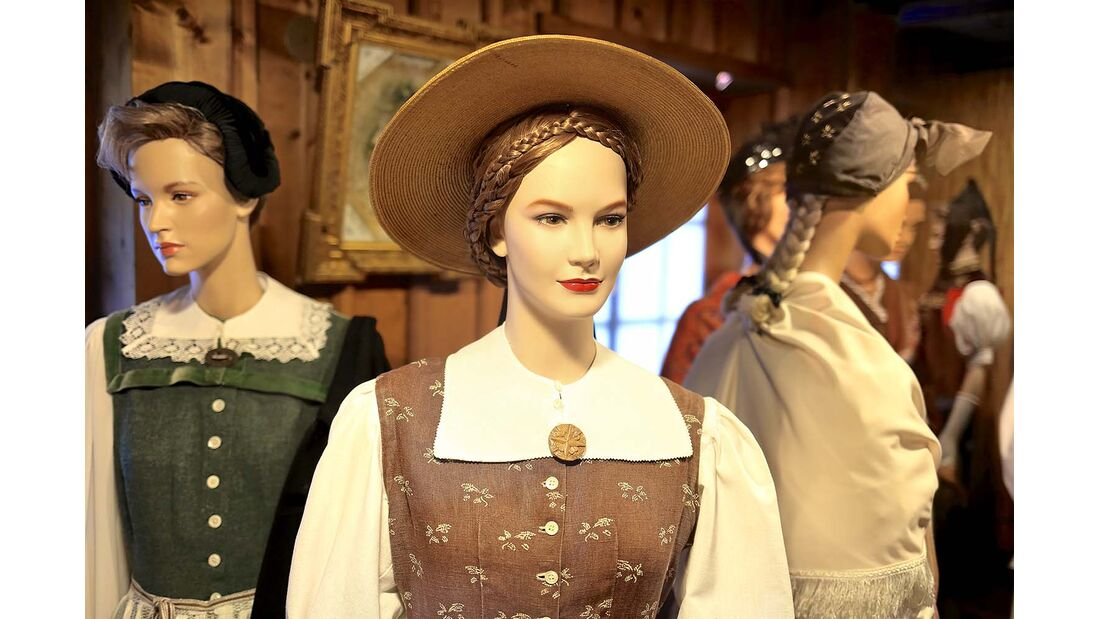 Schwarzwälder Trachtenmuseum im Alten Kloster.