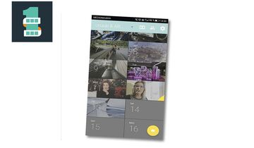 Screenshot der App 1 Second Everyday
