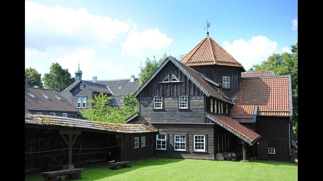 Sehenswertes Bergbaumuseum in Clausthal-Zellerfeld.