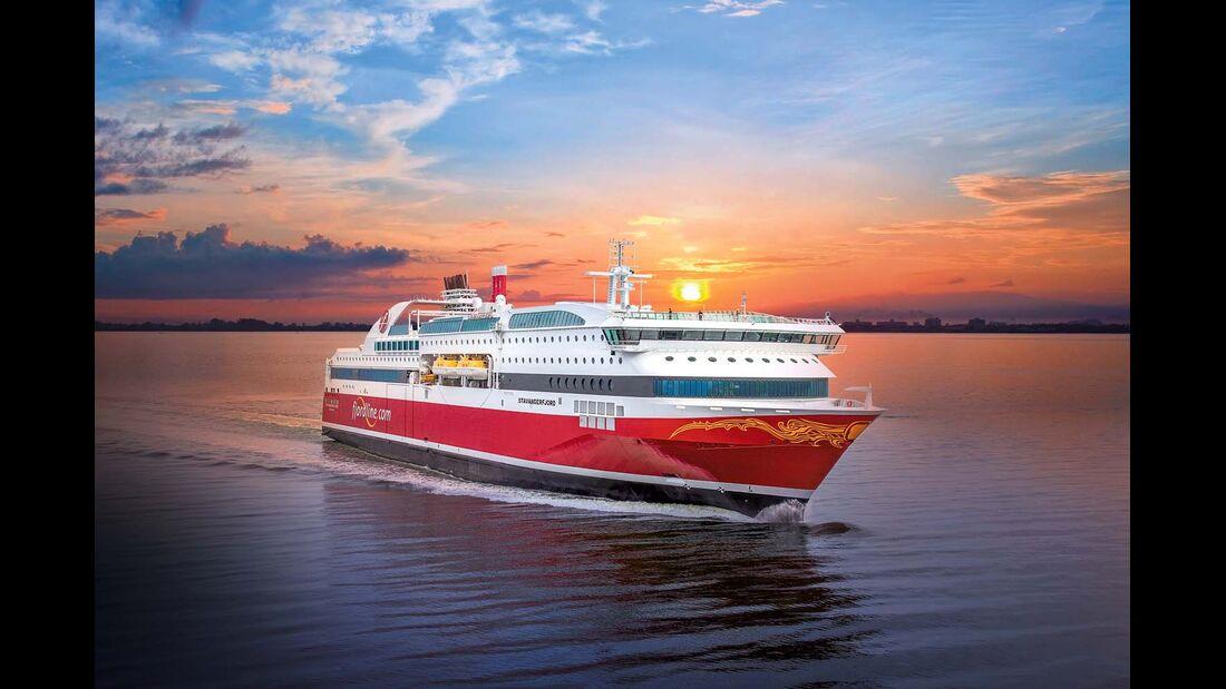 """Seit 2013 fährt die MS """"Stavangerfjord"""" mit flüssigem Erdgas"""