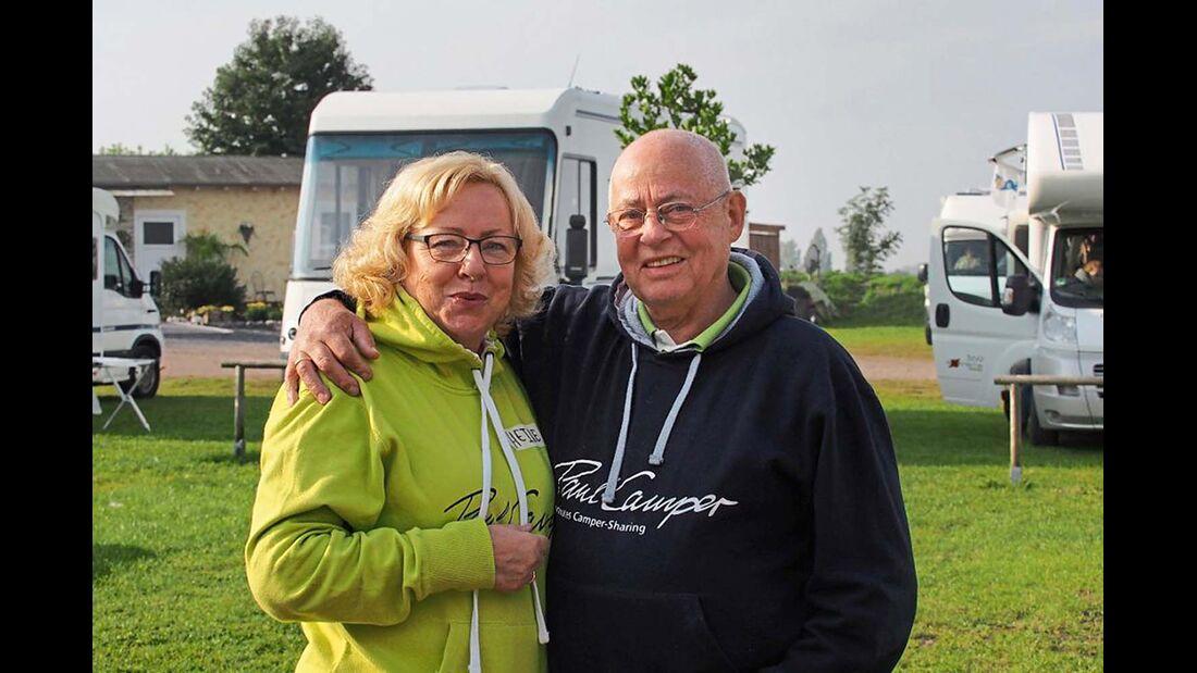 Seit April 2014 sind die 61-jährige Finanzbuchhalterin und ihr Mann bei Paul Camper angemeldet.