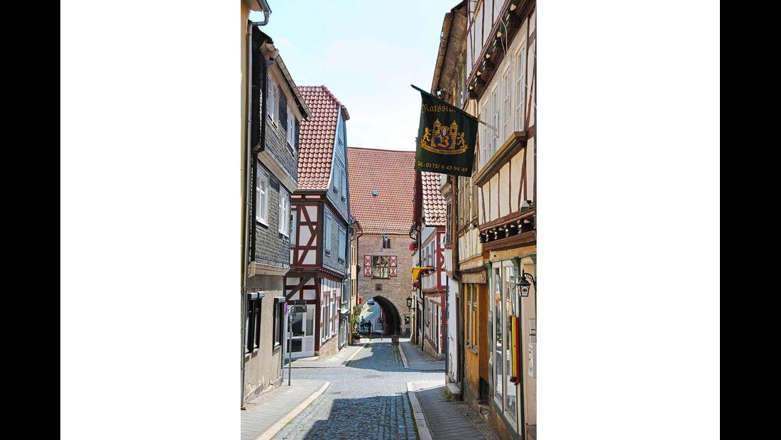 Seit einigen Jahren strahlt die Altstadt von Mühlhausen wieder in neuem Glanz.