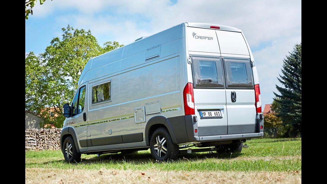 Seitenansicht Campingbus Dreamer Family Van