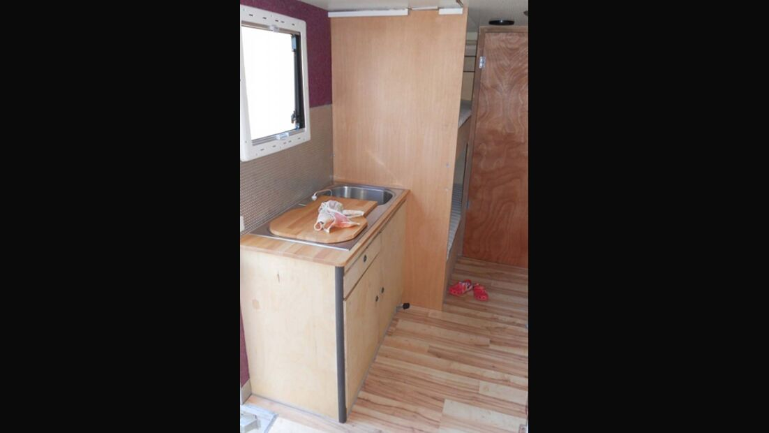 Selbstausgebautes Wohnmobil